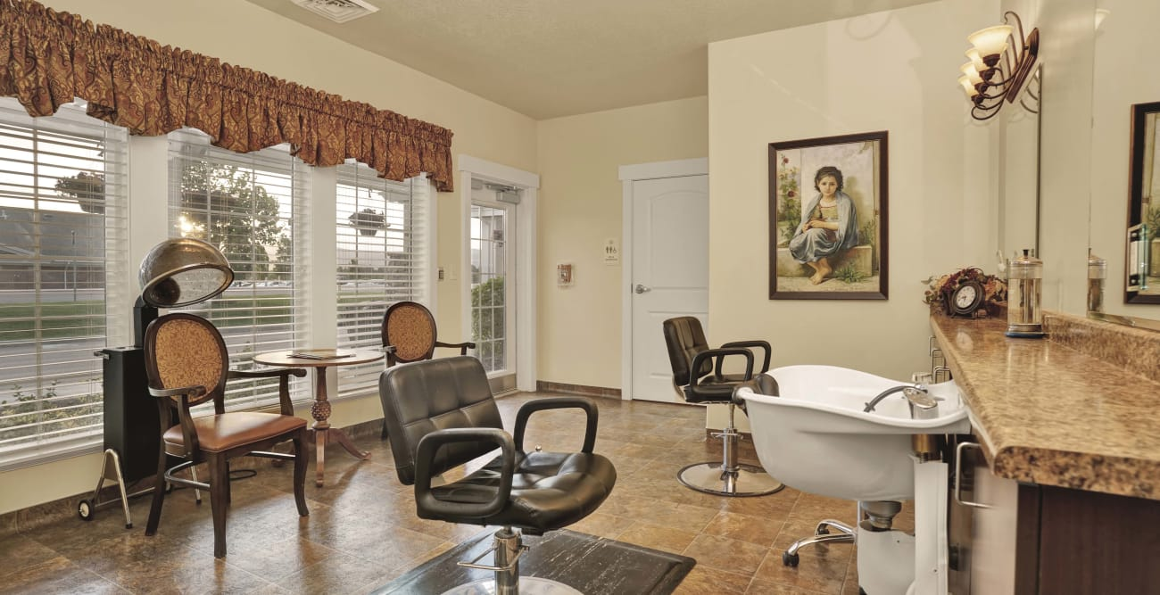 Salon at Highland Glen in Highland, Utah
