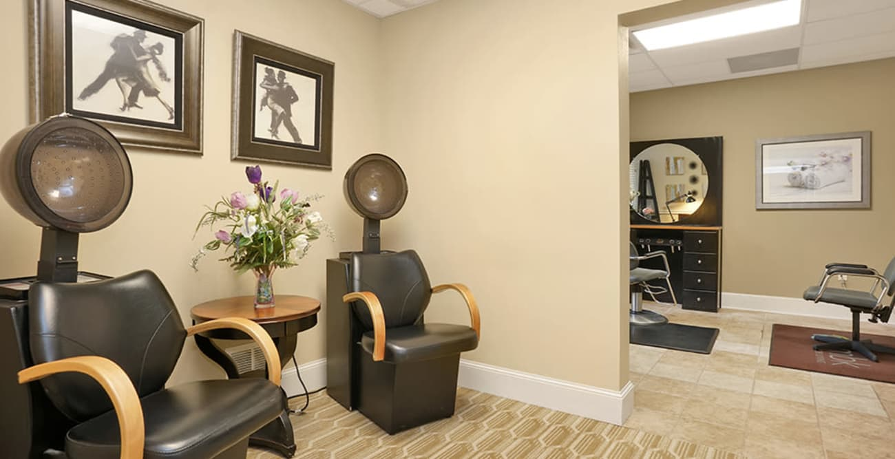 salon at Hillcrest of Loveland in Loveland, Colorado