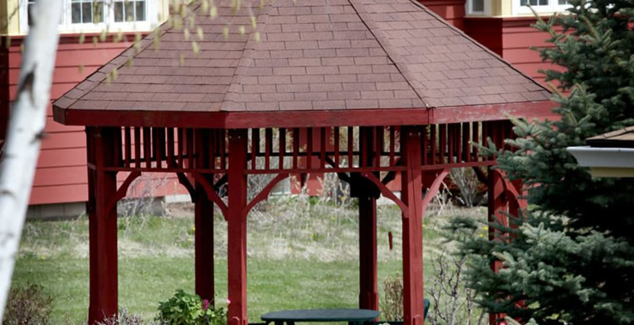 Gazebo at Crystal Terrace of Klamath Falls in Klamath Falls, Oregon