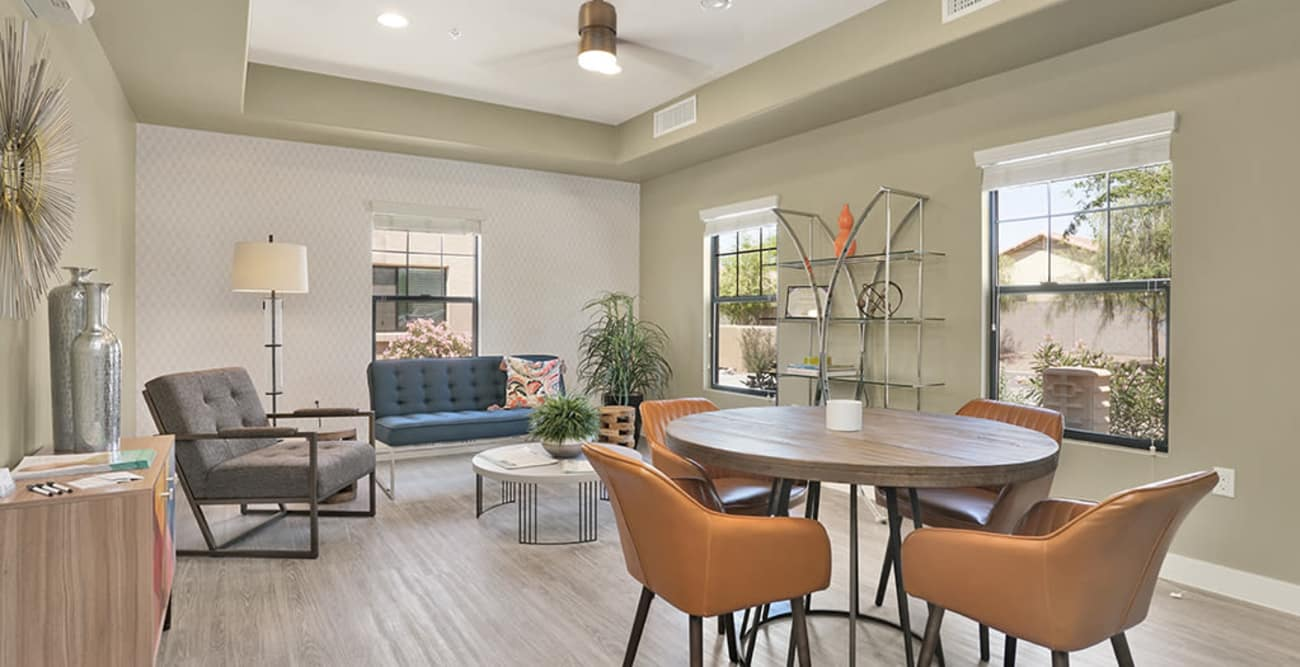 Our senior living community in Litchfield Park, Arizona offer a common area