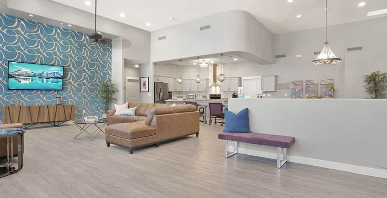 Living space at senior living community in Litchfield Park, Arizona
