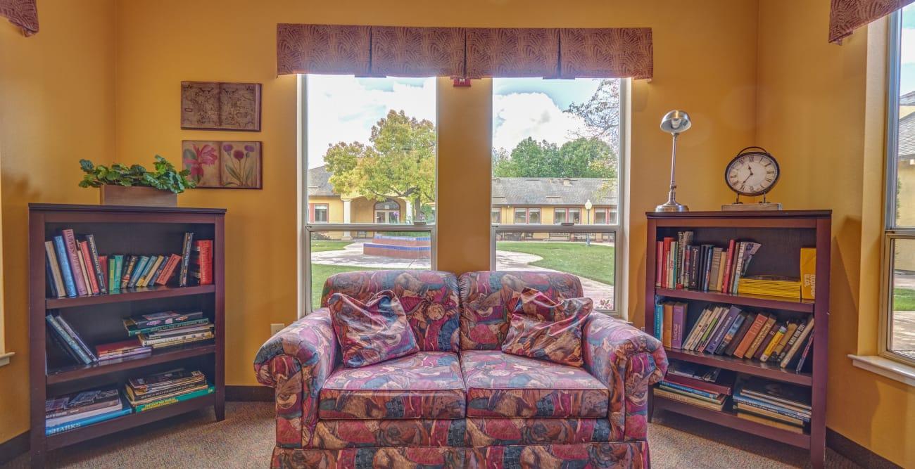 Our senior living community in Petaluma, California offer a living space