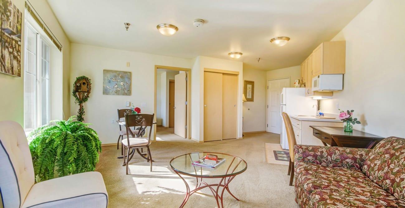Spacious apartment at The Commons on Thornton in Stockton, California