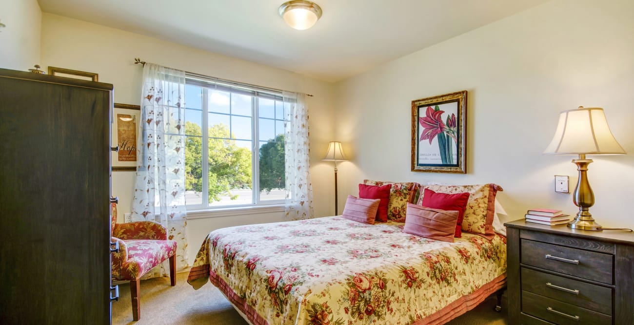 Bedroom at The Commons on Thornton in Stockton, California