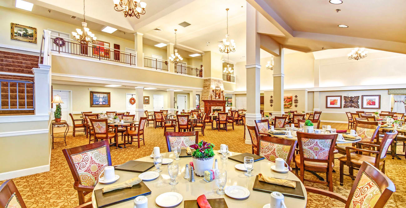 Dining Room at The Commons on Thornton in Stockton, California