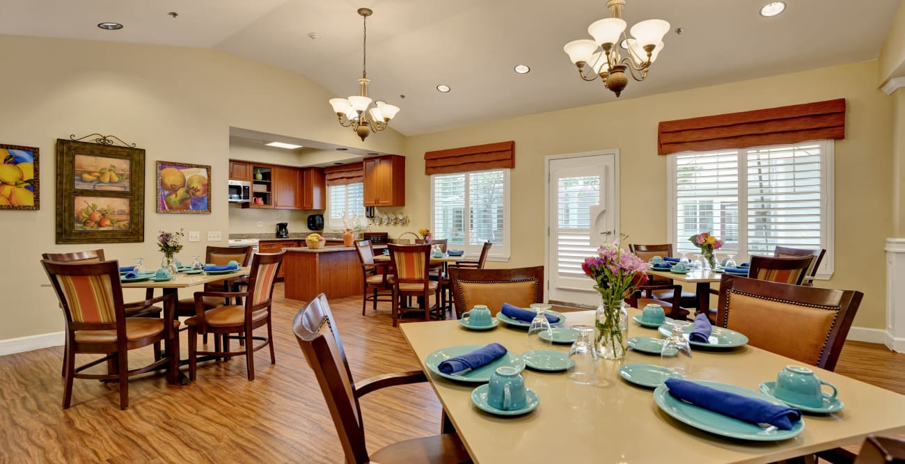 additional dining area