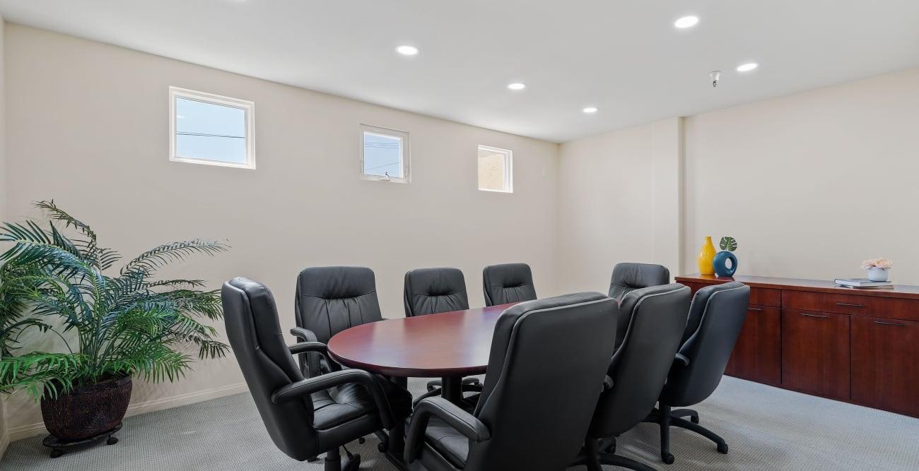Conference room at The Villagio in Northridge, CA