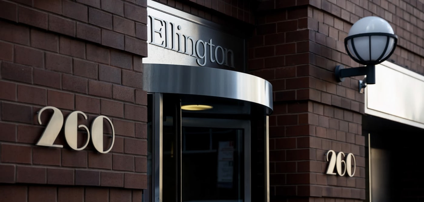 Elegant front entrance of the The Ellington in New York, New York