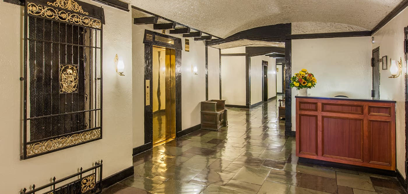 Large history hallway to your new apartment house at The Sutton Collection in New York, New York