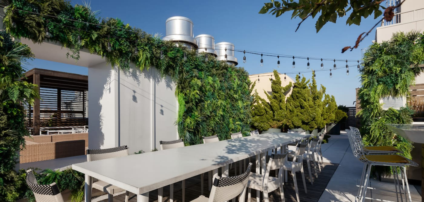 Roof top at The Larstrand in New York, New York