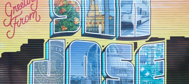 Downtown San Jose murals near Sparq