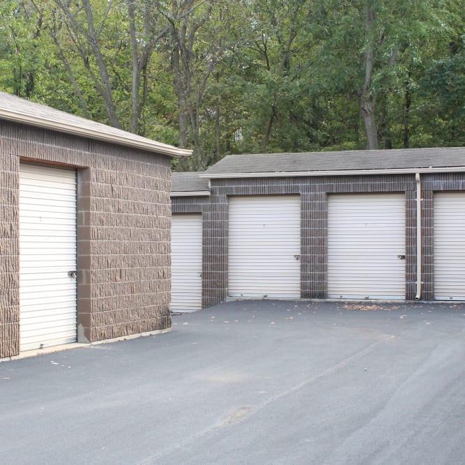 Storage units at A Shur-Lock Self Storage in Lake St. Louis, Missouri