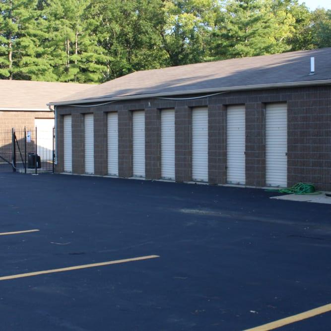 Ample parking at A Shur-Lock Self Storage in Lake St. Louis, Missouri