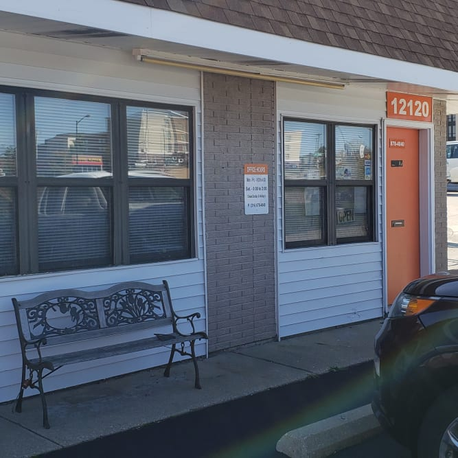 Office entrance at A Shur-Lock Self Storage in Maryland Heights, Missouri