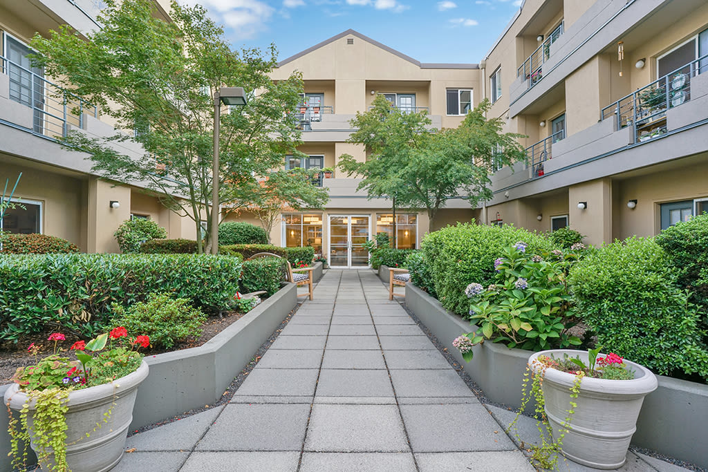 Request more information for the senior living community in Mercer Island