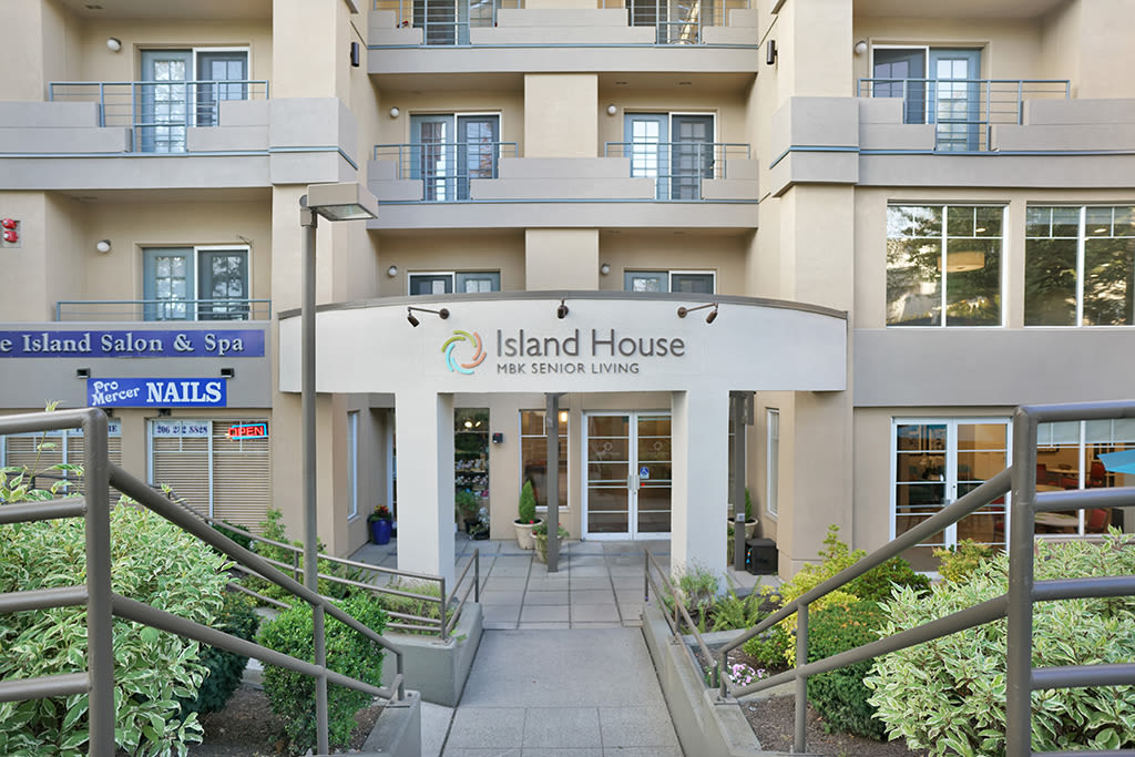 Map and directions to the senior living community in Mercer Island