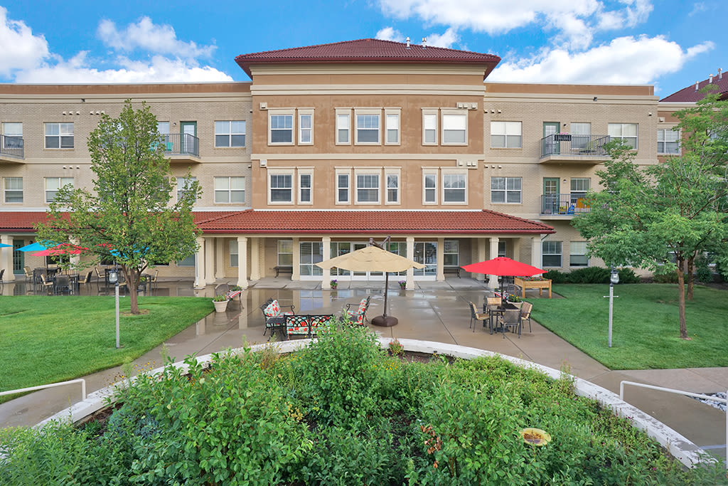 Senior living in Greenwood Village, CO is just right for you