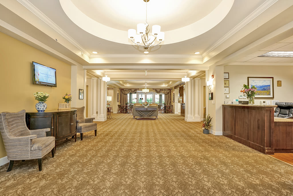 Our community at the senior living facility in Greenwood Village
