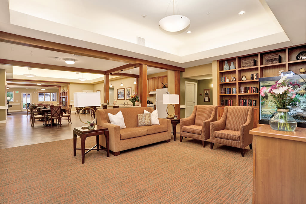 View the spacious floor plans that the senior living in Loveland is offering