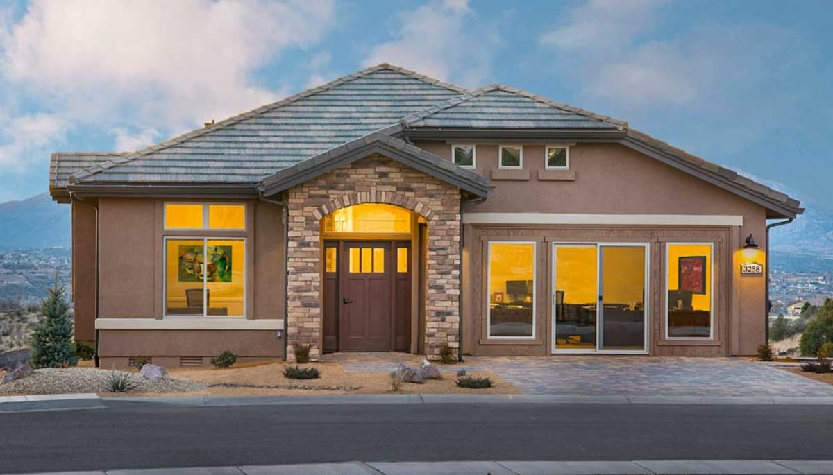 An independent living home at Touchmark at The Ranch in Prescott, Arizona