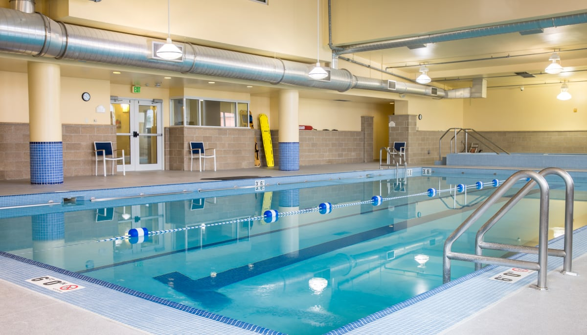 Swimming pool at Touchmark on West Century in Bismarck, North Dakota