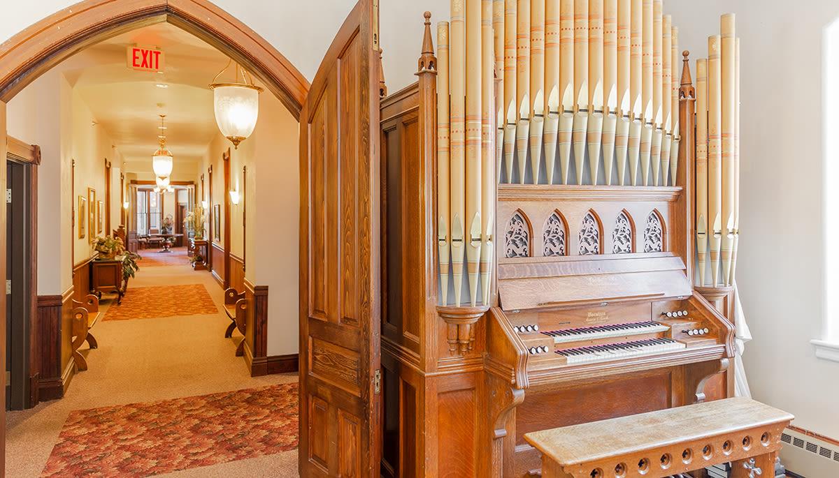 Large musical organ