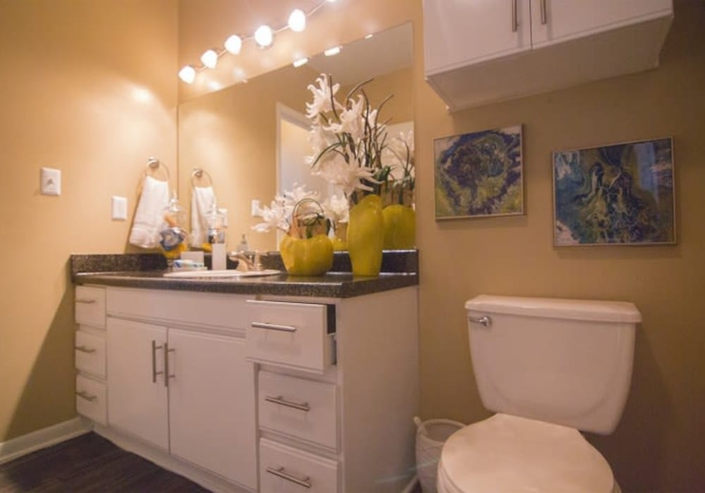 Beautiful bathroom at Metro 5514 in Houston, Texas