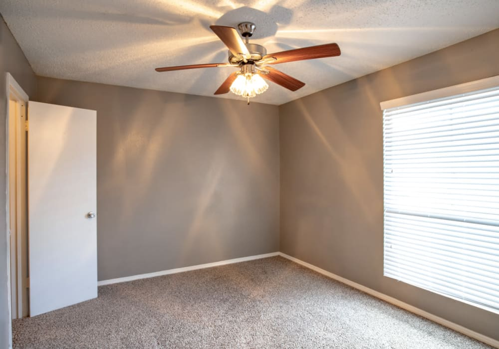 Bedroom at Willowick Apartments in College Station, Texas