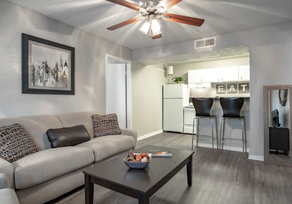 Willowick Apartments offers a Living Room in College Station, Texas