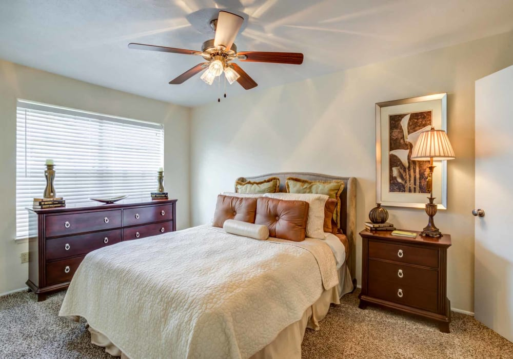 Bedroom at Willow Oaks Apartments