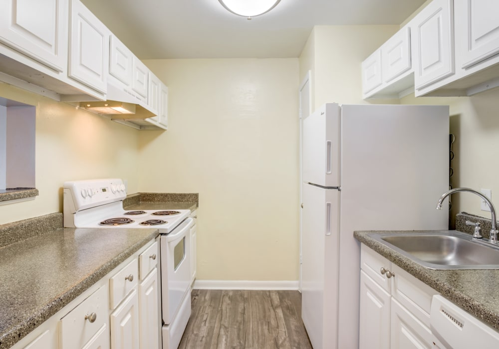 Our Apartments in Huntsville, Texas offer a Kitchen