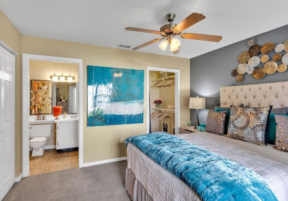 A large bedroom at The Braxton in Palm Bay, Florida