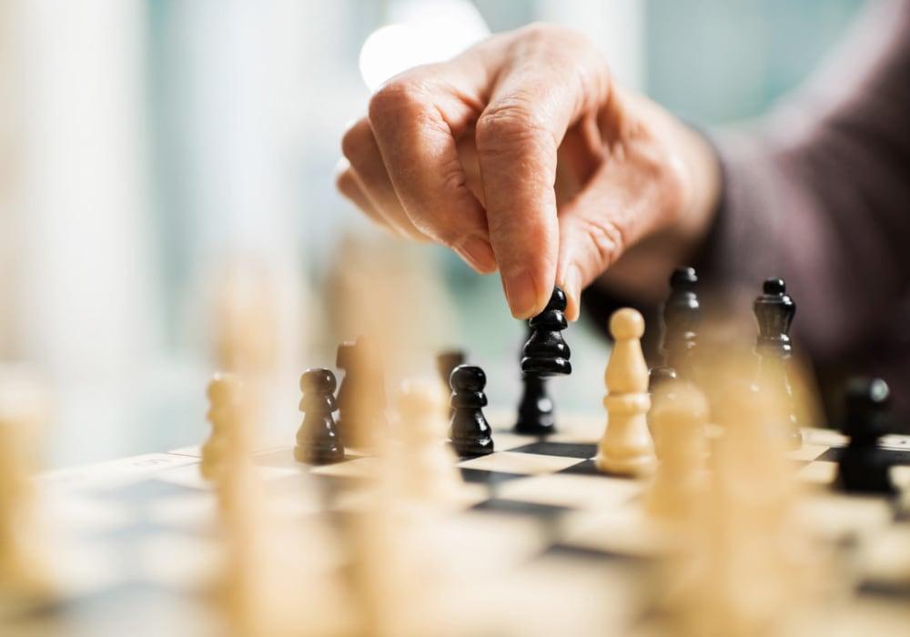 Board games at Inglenook At Brighton in Brighton, Colorado