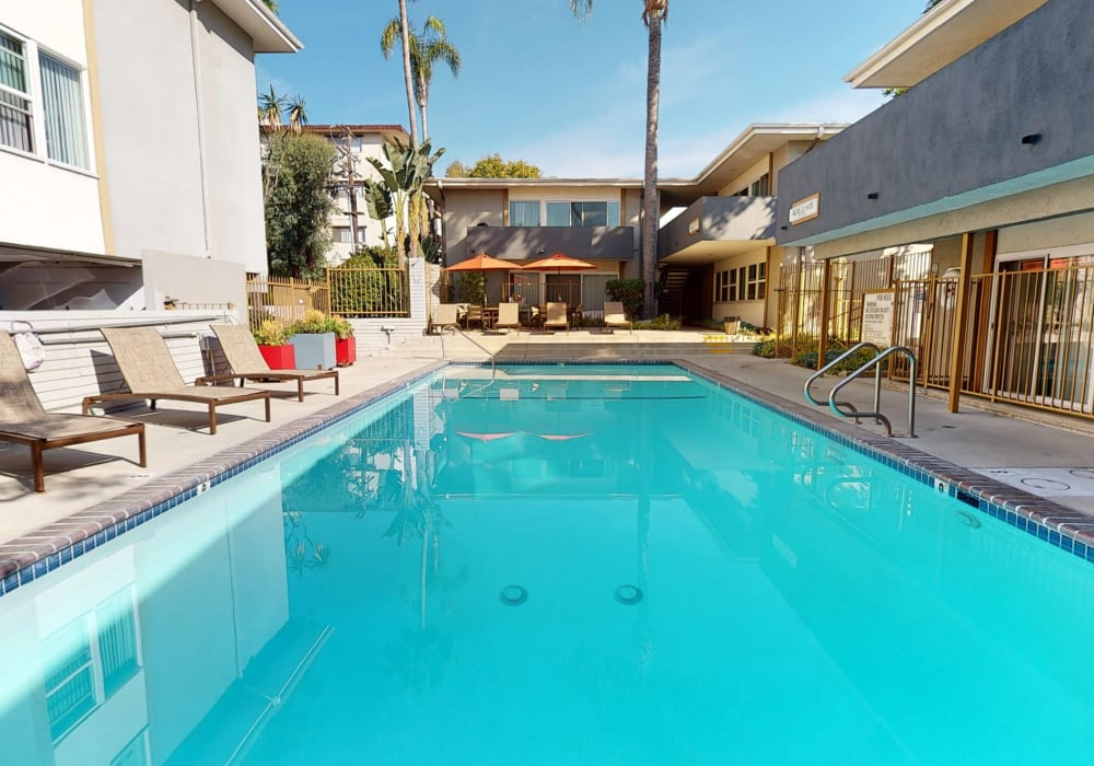 View a virtual tour of swimming pool 1 at West Park Village in Los Angeles, California