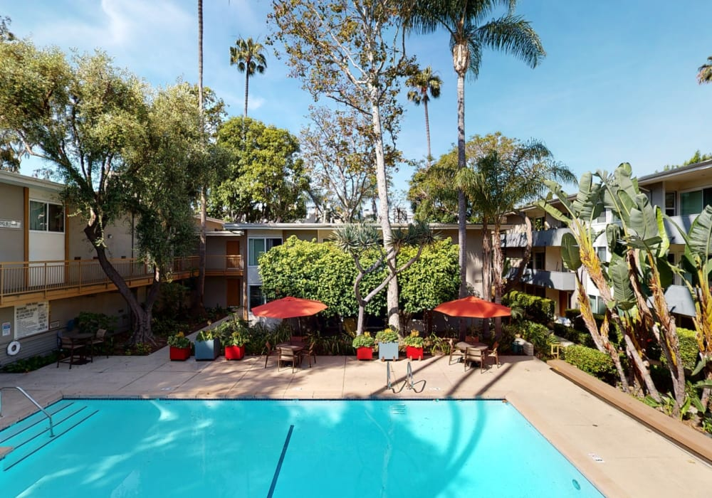 View a virtual tour of swimming pool 2 at West Park Village in Los Angeles, California