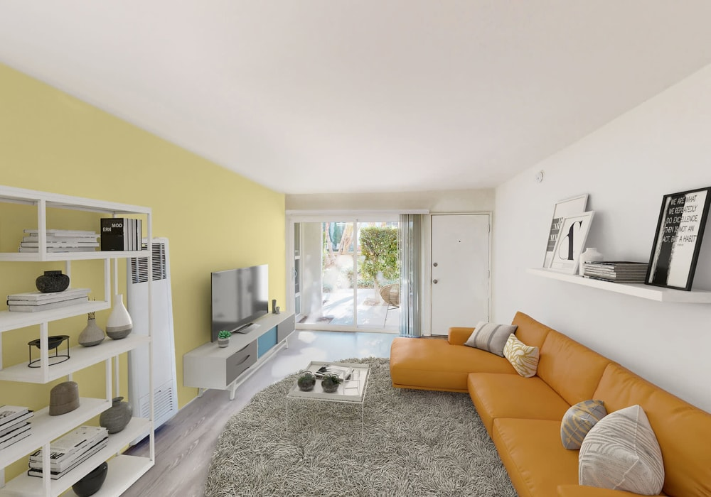 View a virtual tour of our one bedroom homes at West Park Village in Los Angeles, California