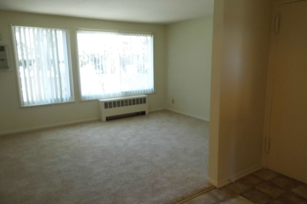 Living room area at Indian Brook Apartments in Glenville