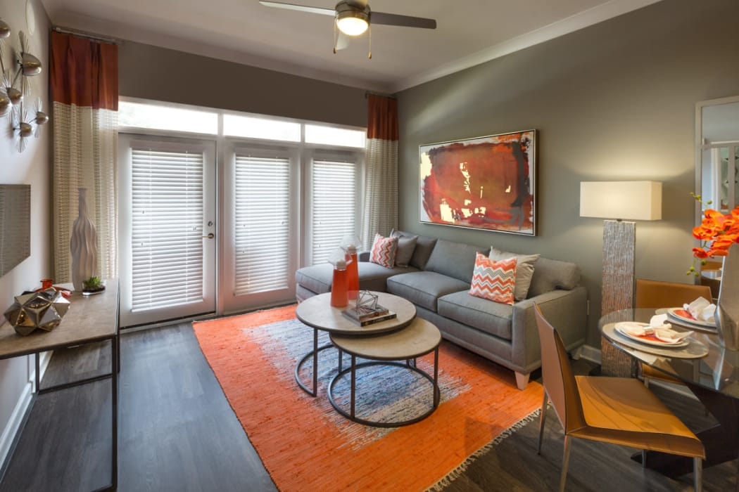 Open floor plans at Reserve Decatur in Decatur