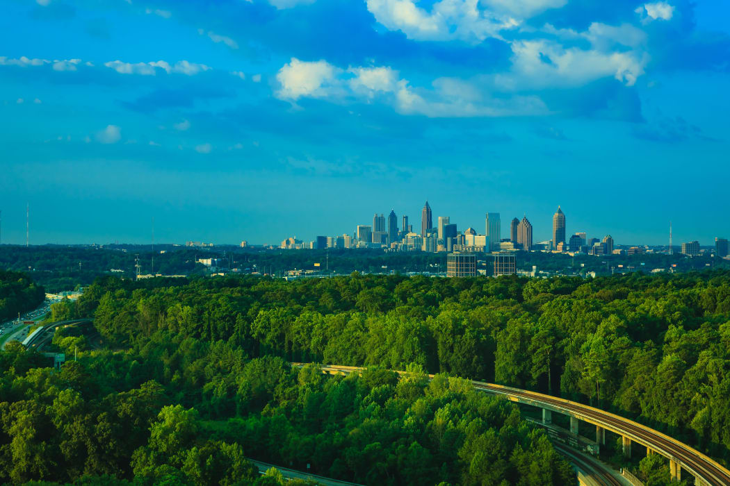 view of Atlanta, GA