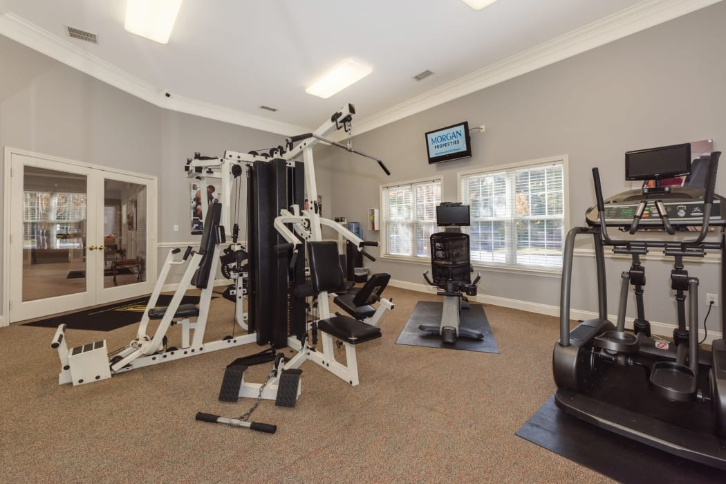 Enjoy Apartments with a Fitness Center at Forest Oaks Apartment Homes