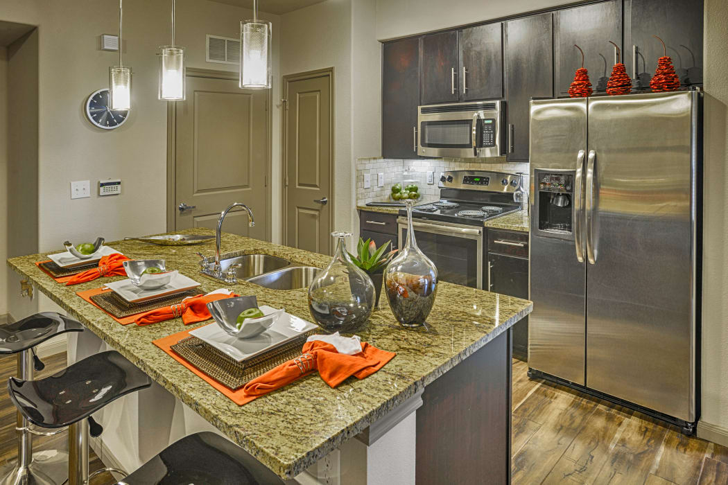 Beautiful Kitchen at Radius at Shadow Creek Ranch in Pearland
