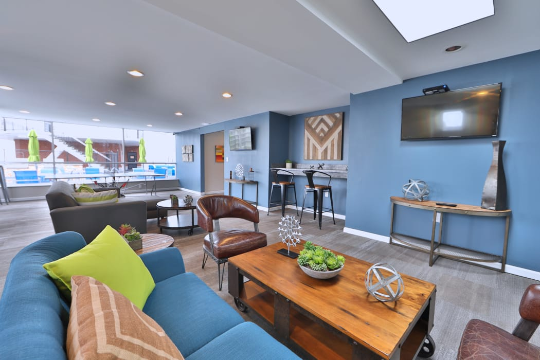 Clubhouse Sunroom at Apartments in Baltimore, Maryland
