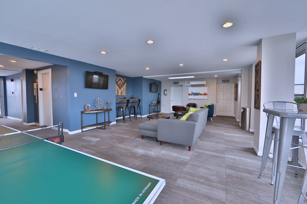 Enjoy Apartments with a Clubhouse at The Carlyle Apartments