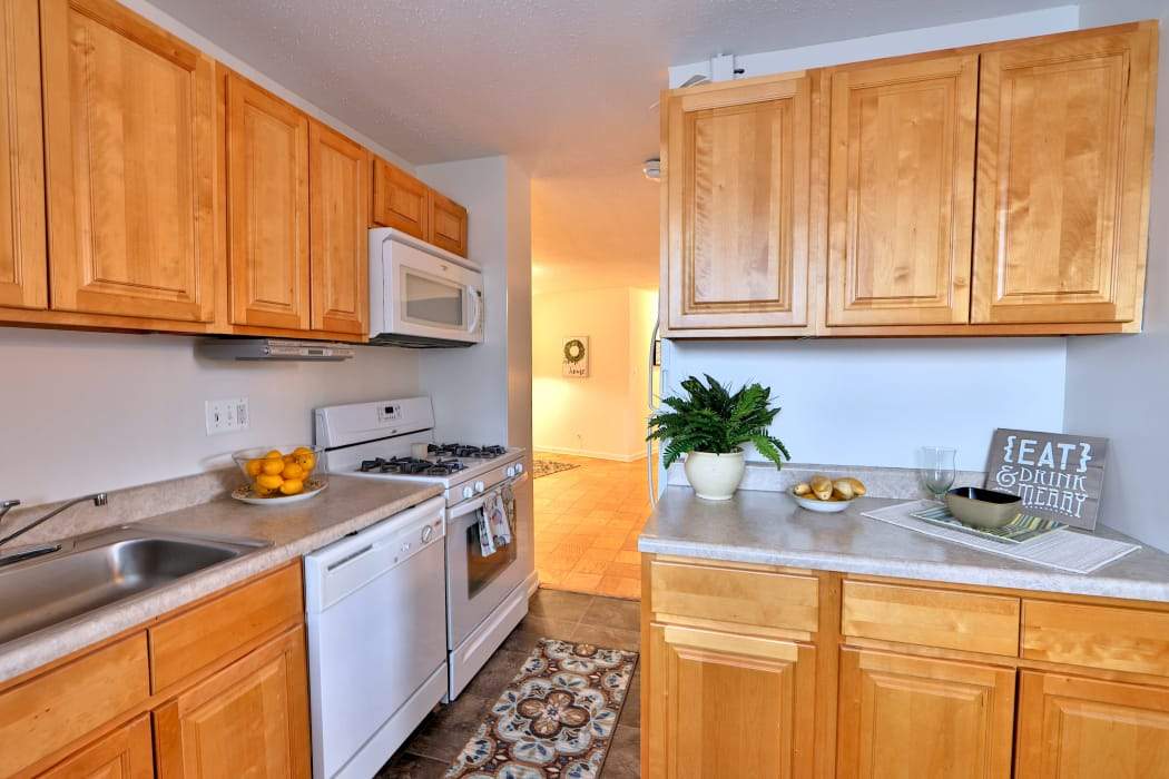 Kitchen at Apartments in Baltimore, Maryland