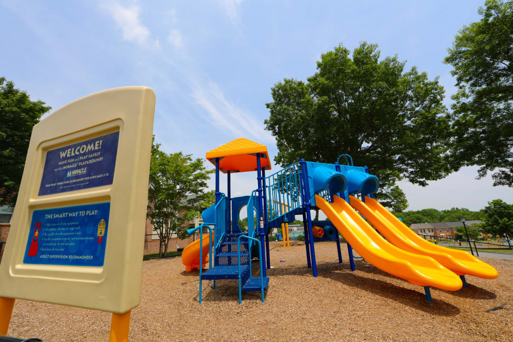 Playground at Silver Spring Station Apartment Homes in Baltimore, MD