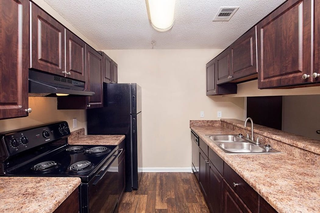 Bright kitchen at Lake Crossing in Austell, GA