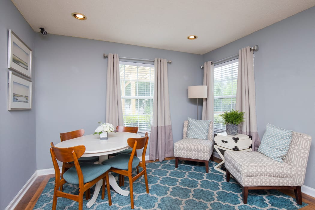 Beautiful dining room at Gregory Lane in Acworth, GA