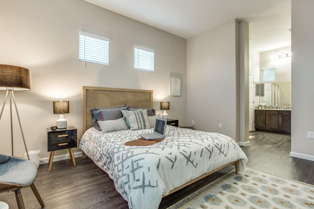 Spacious bedroom at Avilla Prairie Center in Brighton, Colorado
