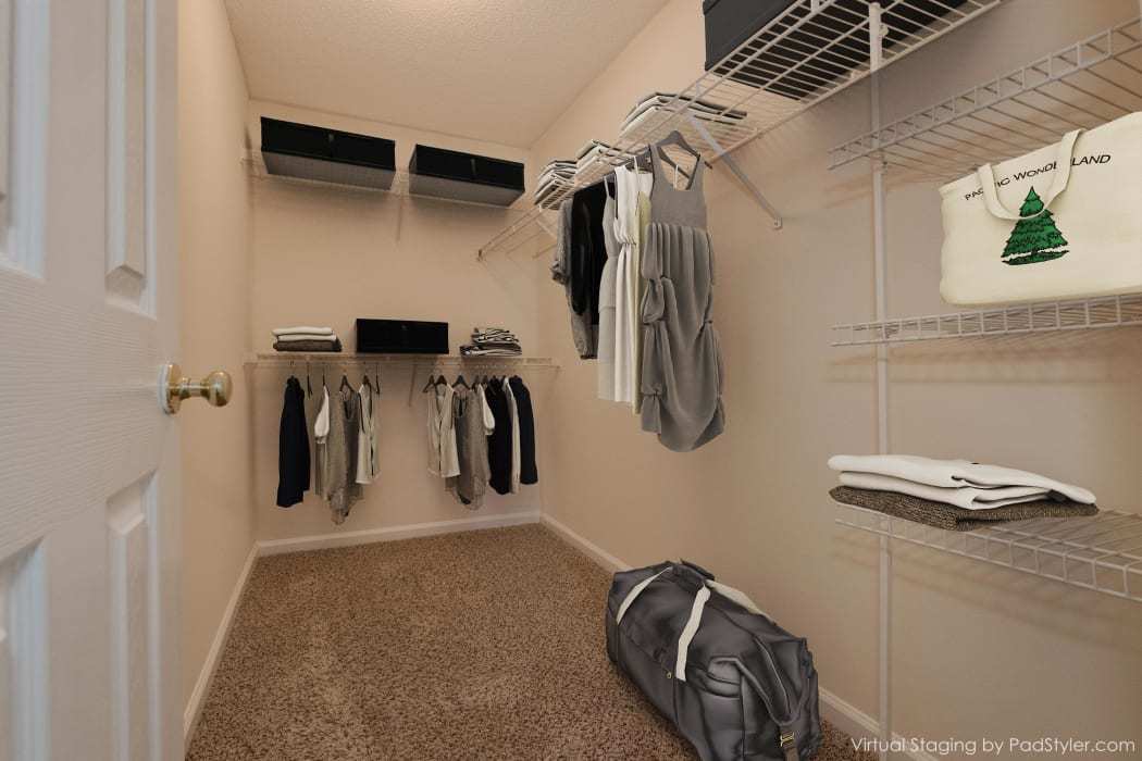 Apartments with Walk-in Closets in Rock Hill, South Carolina