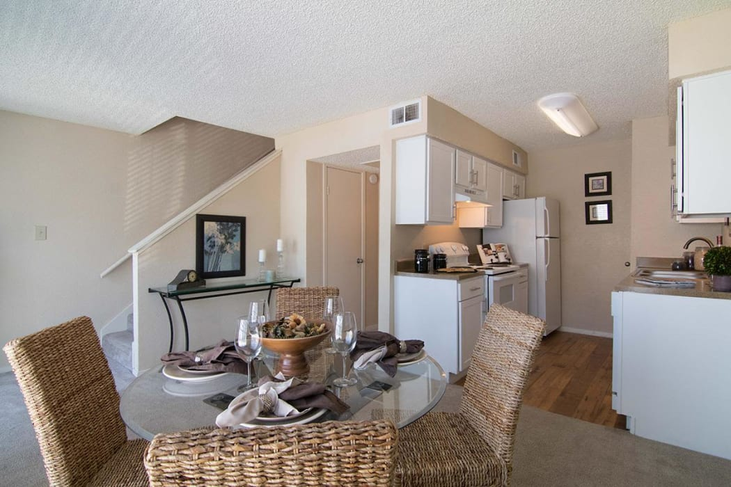 Full equipped Kitchen at 2111 Holly Hall in Houston, Texas
